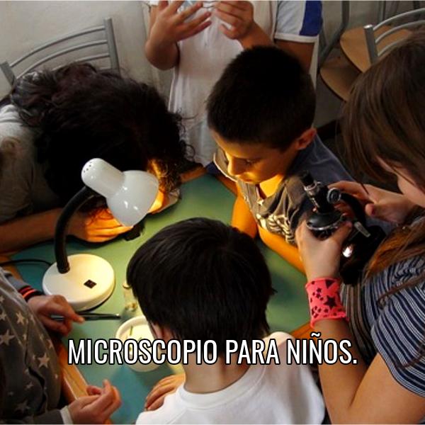 comprar microscopio para niños