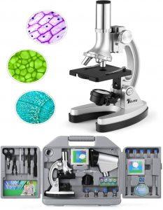 Microscopio infantil Telmu experimentos