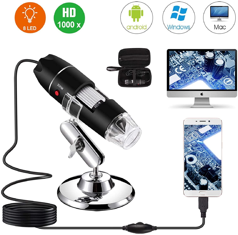 microscopio usb 40x1000x