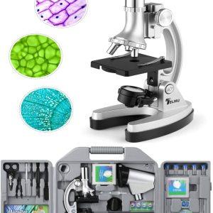 telmu microscopio niños